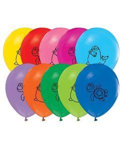 Doğum günü parti süslemeleri için Deniz Hayvanları Temalı 10 Adet Renkli Latex Balon ürünümüzü online olarak uygun fiyatlar ile satın…
