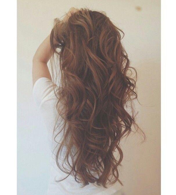 Big loose curls ♥ | Hairstyles | Pinterest | My hair ...