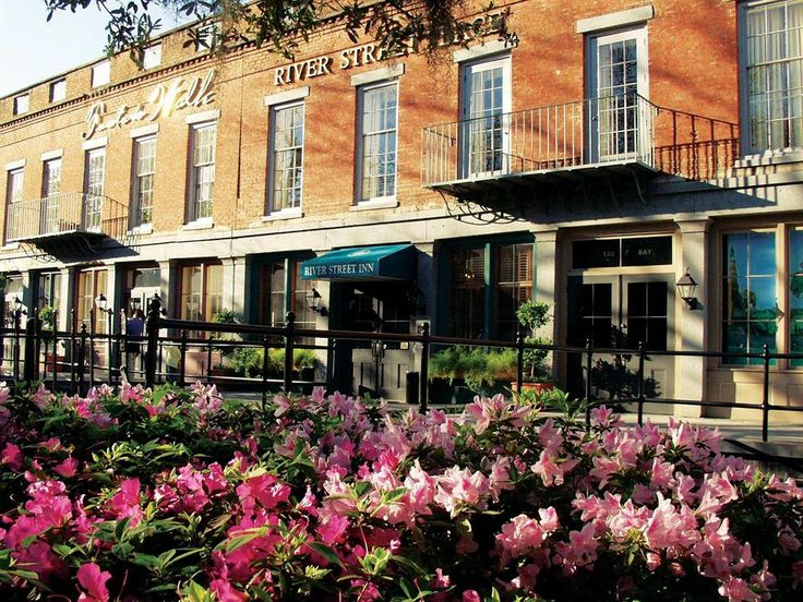 The Inn S Central Location At North End Of Savannah Historic District Puts Guests Within Easy