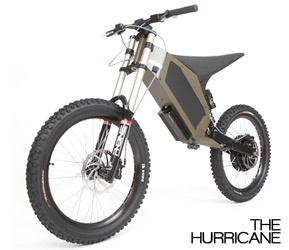 Stealth Hurricane Electric Bicycles - The Electric Bicycle Store Store