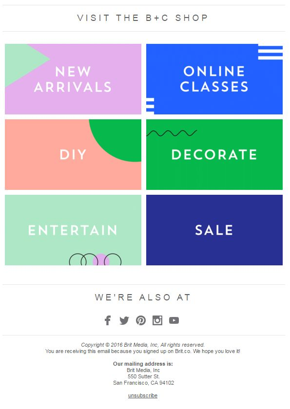 Best 25+ Email footer ideas on Pinterest | Shapes images, Email ...