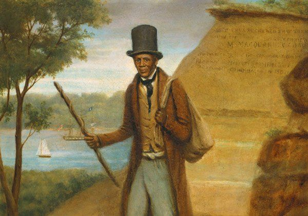 Teacher resource - the story of Billy Blue JB East's 1834 portrait of Billy Blue. Mitchell Library, State Library of NSW.