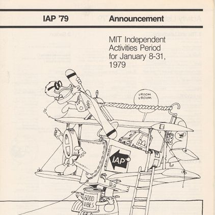 "MIT Museum--Image of Independent Activities Period Class ""How to Gamble if You Will"",1979-1993-- MIT Blackjack team"