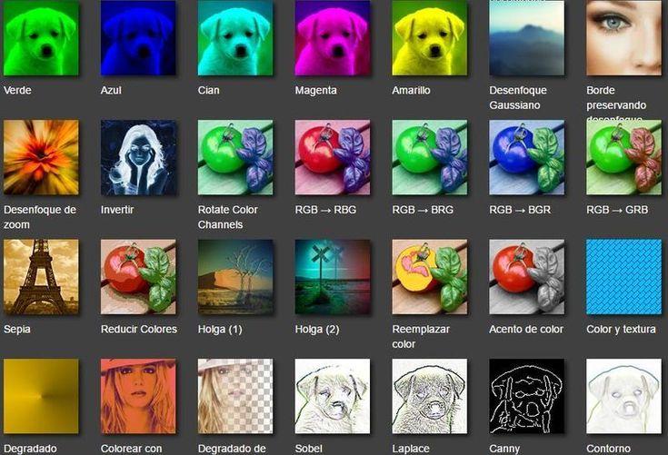 Fotoview es un sitio con una enorme colección de efectos y filtros para retocar nuestras fotografías. Una herramienta gratuita y sin necesidad de registro.