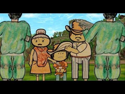 Trailer : Pequeñas voces es una película basada en entrevistas y dibujos de una generación de niños desplazados (8 a 13 años de edad) que crecieron en medio de la violencia y el caos en Colombia.