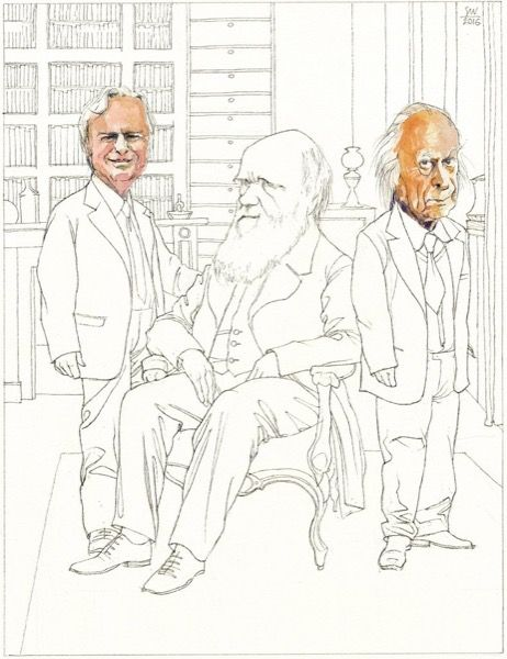 Siegfried Woldhek - Richard Dawkins, Charles Darwin, Denis Noble