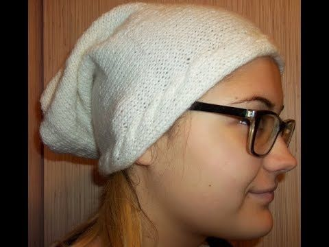 How to knitting your own simple hat. Tutorial