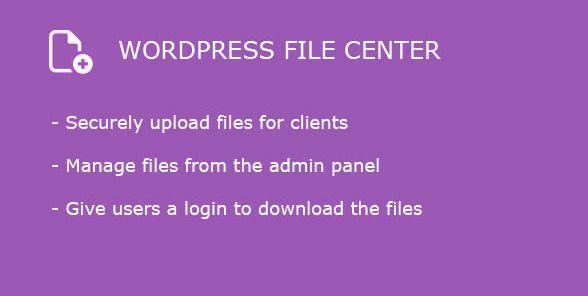 Popular File Management Plugins for WordPress - wpgenius