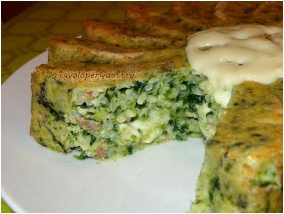 Un Tavolo per Quattro: Riso al forno con spinaci