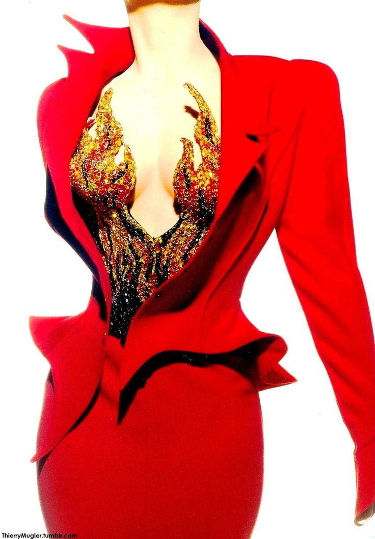 Thierry Mugler Vintage    I am speachless...words cannot express my admiration...