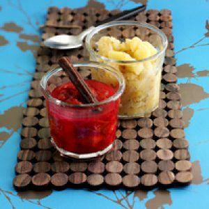 Æblechutney og blommechutney opskrift