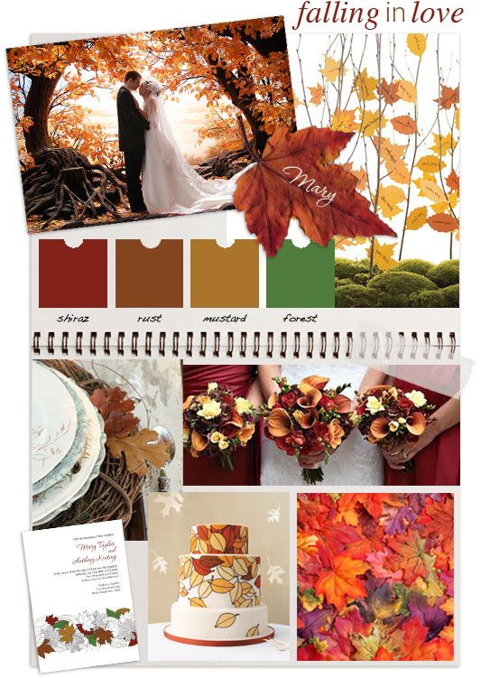 falling in love, autumn wedding inspiration by 'i do' it yourself
