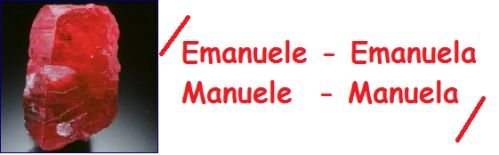 Emanuele-Emanuela-Manuele-Manuela: significato-numerologia-simbologia del nome