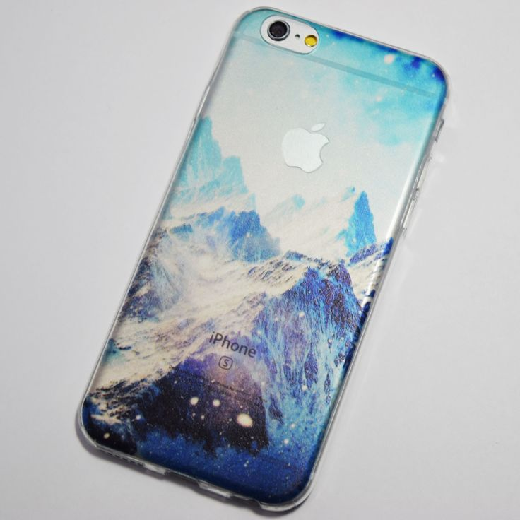 Snowy Mountains iPhone 6 / iPhone 6S Soft Case