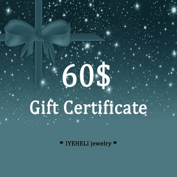 60 Usd Prepaid E Gift Card Electronic Christmas Gift Card