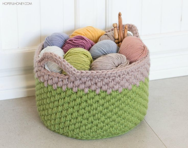 Add some rustic charm to your home with a quirky woodland basket! This project works up in less than a weekend (making it the ideal project for those of us who lead very busy lives) , whilst also creating a very uniquely textured basket to display all your pretty yarns and hooks in!