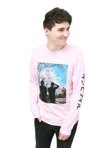 Blossom Long Sleeve Shirt - Light Pink