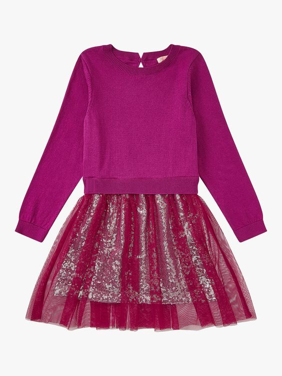7dabe1eba BuyJigsaw Girls  2-in-1 Sequin Dress