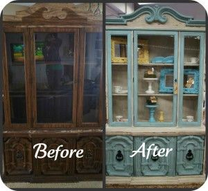 25 best china cabinet makeovers images by habitat for for Paint store seattle