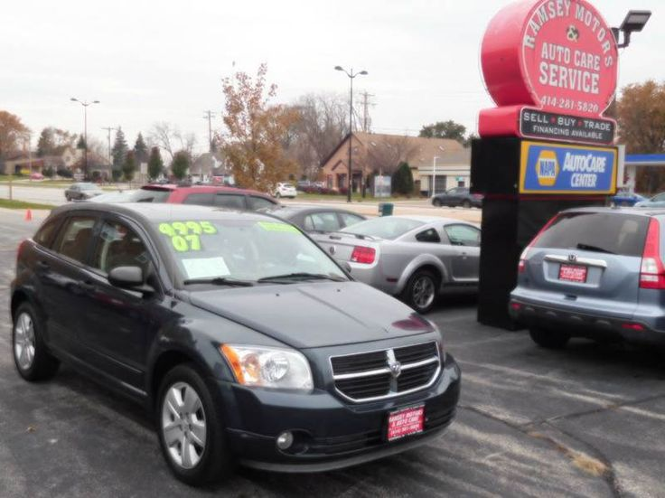 This 2007 Dodge Caliber SXT is listed on Carsforsale.com for $4,995 in Milwaukee, WI. This vehicle includes 2-Stage Unlocking Doors, Airbag Deactivation - Occupant Sensing Passenger, Am/Fm Stereo W/Cd And Mp3, Antenna Type - Mast, Anti-Lock Front Disc/Rear Drum Brakes, Anti-Theft System - Engine Immobilizer, Auxiliary Audio Input - Mp3, Axle Ratio - 4.12, Cargo Area Light, Center Console - Front Console With Storage, Child Safety Door Locks, Child Seat Anchors, Clock, Cupholder...