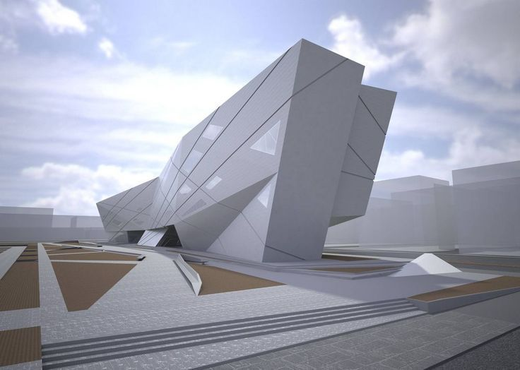 University of seville library in seville spain by zaha for Arquitectura zaha hadid