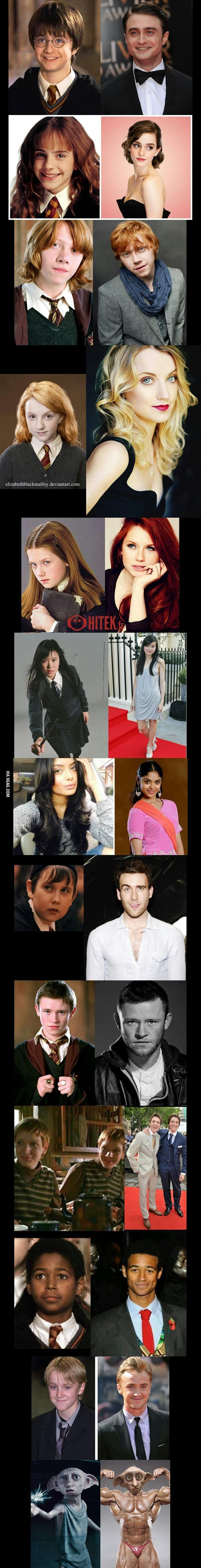 Harry Potter characters got seriously HOT! (Saved the best for last)