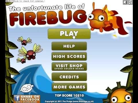 Firebug arcade game addicting fun action games pinterest