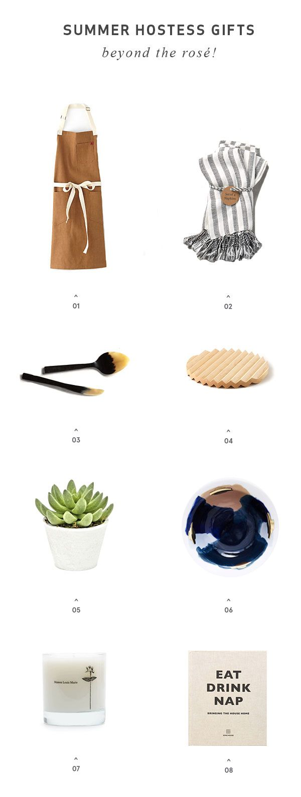 Party Guest This Weekend? 8 Unique Summer Hostess Gifts