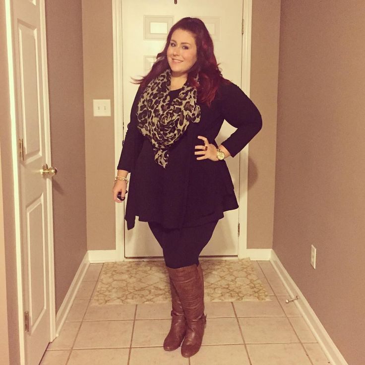 Plus Size Fashion - Plus Size Outfit from target. Boots- madden girl