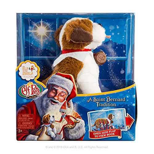 The Elf On The Shelf Pets A St Bernard Tradition Elves