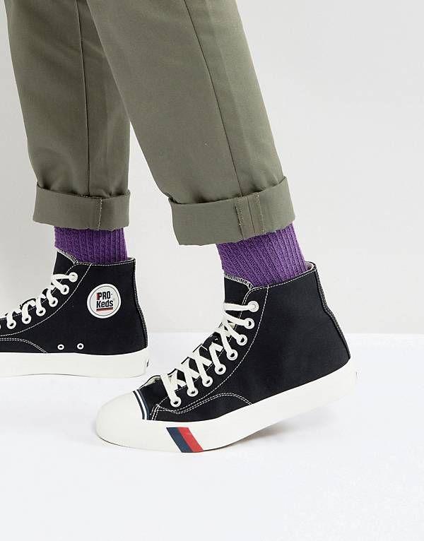 Pro Keds Royal Hi Top Canvas Sneakers