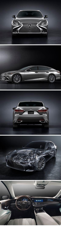 Lexus LS 500 2018 #posters #printcarposter