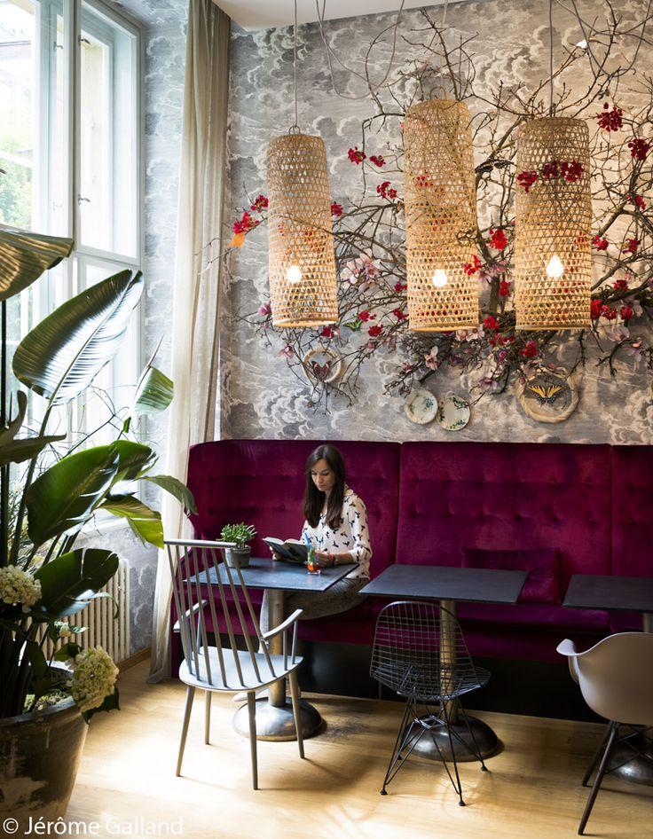 les 25 meilleures id es de la cat gorie design int rieur de caf sur pinterest style de caf. Black Bedroom Furniture Sets. Home Design Ideas
