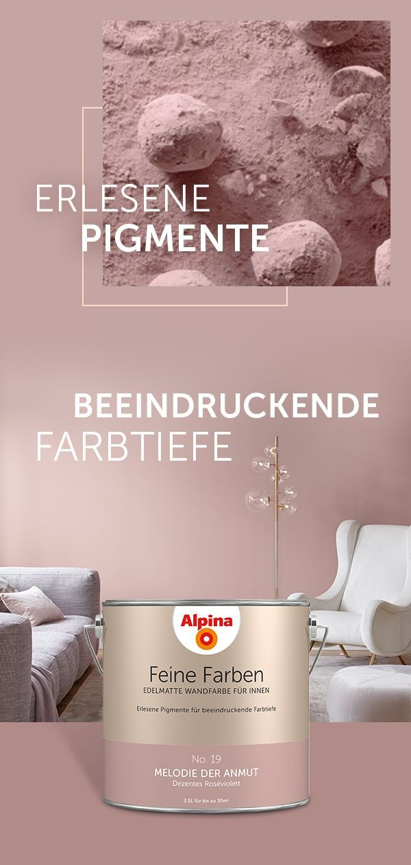 alpina feine farben #alpinafeinefarben 32 edelmatte ... Was benötige ich außer den wandfarben zum streichen?