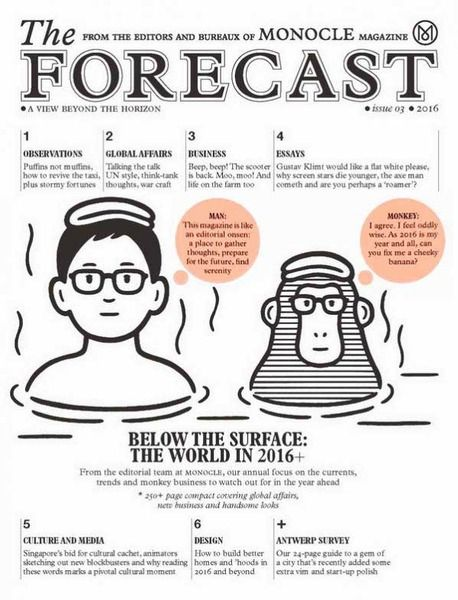 #illustration #cover Noritake - The Forecast 2016
