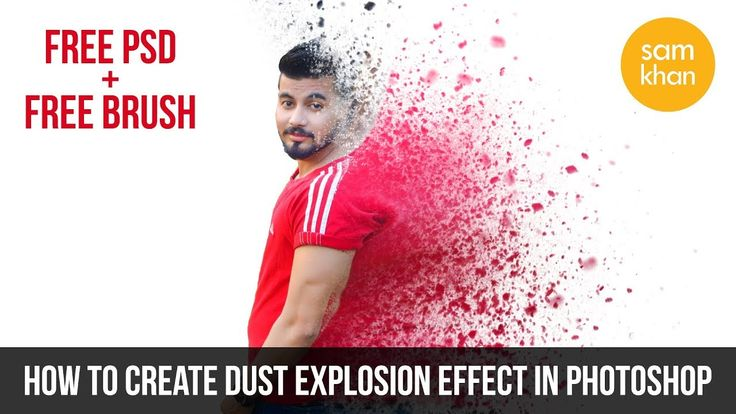 Photoshop tutorials | how to create Dust Explosion Effect In Photoshop 2...