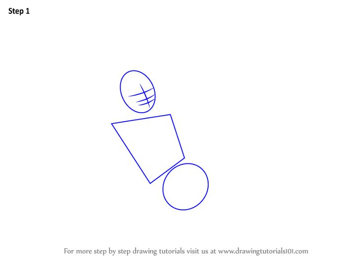 Learn How to Draw Lord Vishnu (Hinduism) Step by Step : Drawing Tutorials