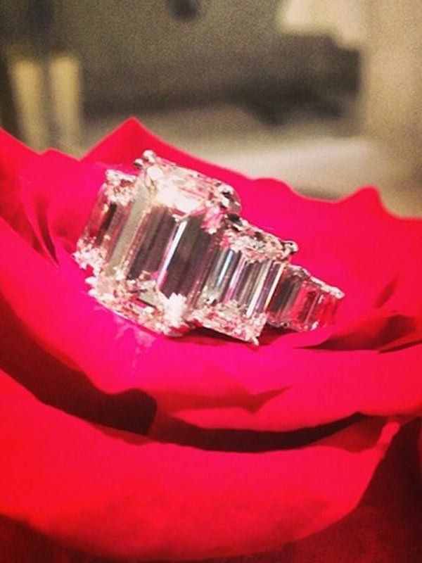 Now THIS is blinding bling! Check out Ciara's 15-carat, flawless ring.