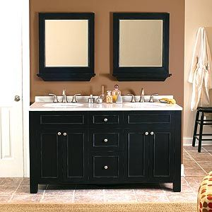 1000 ideas about small double vanity on pinterest - Bathroom mirror ideas for single sink ...