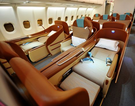 The world's best business class seats are found in an Oman Air plane, according to the Skytrax survey – and a glimpse at the photo above may help you guess why these outclassed the business-class benches of Singapore Airlines and Qatar Airways