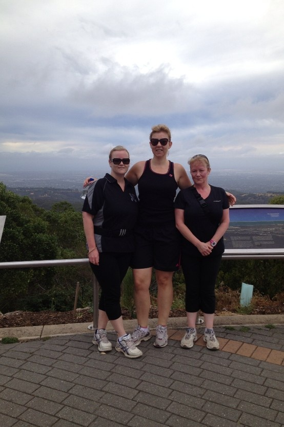 Getting PB's up Mt Lofty everytime!