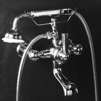 Mitigeur pour baignoire / mural / en chrome / 1 trou