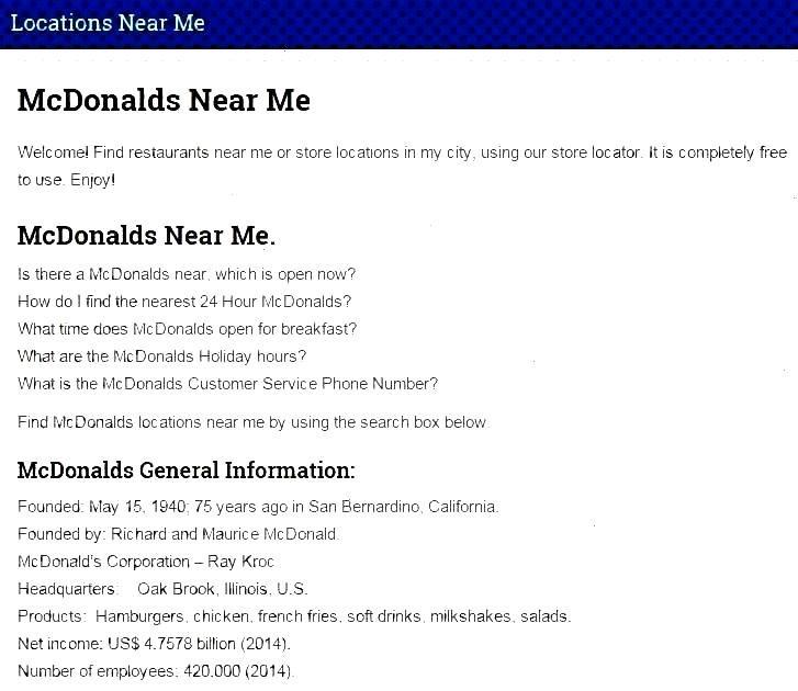 Websitemcdonalds Memcdonalds Onmcdonalds Mcdonalds Locations Onnear Meyou Neayo Find More Near And Our Mcdonalds Locations Mcdonalds Find
