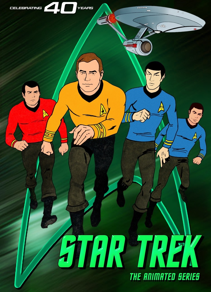 """Star Trek (TAS)... an underappreciated series.  The episode """"Beyond the Farthest Star"""" creeped me right out when I was a kid."""