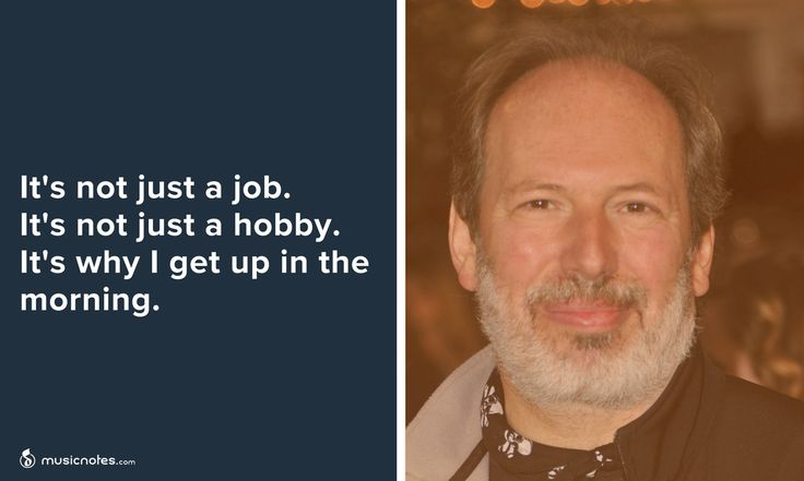 Hans Zimmer on Music: It's not just a job. It's not just a hobby. It's why I get up in the morning.