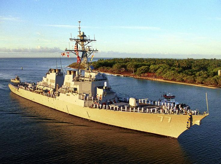 U.S. Navy Destroyers Modern | ... . The destroyer suffered only minor damage with no injuries reported
