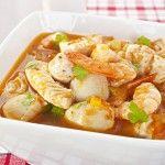 Sopa de mariscos (Meeresfrüchtesuppe)
