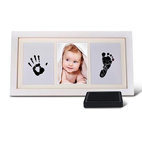 Oferta: 20.99€ Dto: -48%. Comprar Ofertas de Osup Marco de la Foto Del Bebé Huellas Animales de pies y Manos Con la Tinta del Recuerdo la familia del bebé del recuerdo de barato. ¡Mira las ofertas!