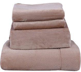 Berkshire Blanket Velvet Soft Cozy Queen Sheet Set