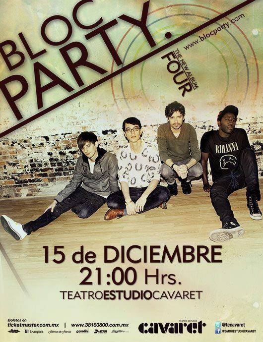 BLOC PARTY! - 15 de Diciembre @ Teatro Estudio Cavaret